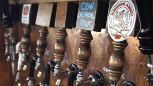 Local Roaring Fork beers on tap
